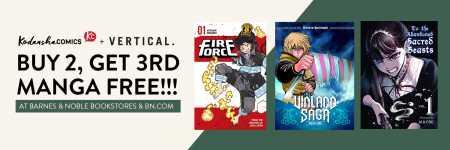 Buy 2 Get 3rd Manga Free At Barnes Noble College Campus Stores Kodansha Comics