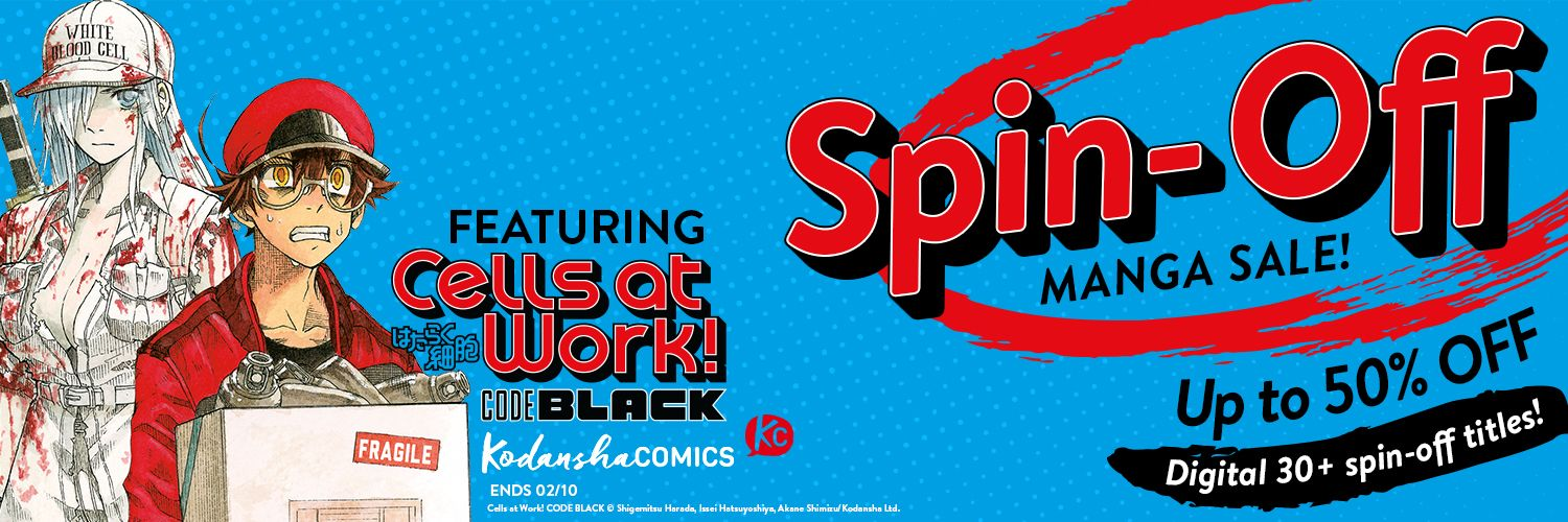 Spin-Off Manga Sale - up to 50% off