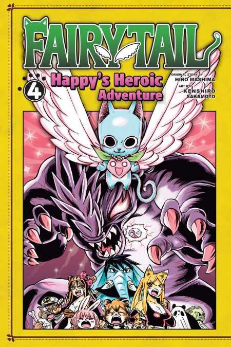 Fairy Tail: Happy's Heroic Adventure, 4