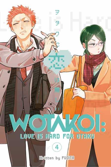 cover for Wotakoi: Love is Hard for Otaku, 4