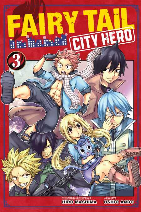 cover for Fairy Tail: City Hero, 3