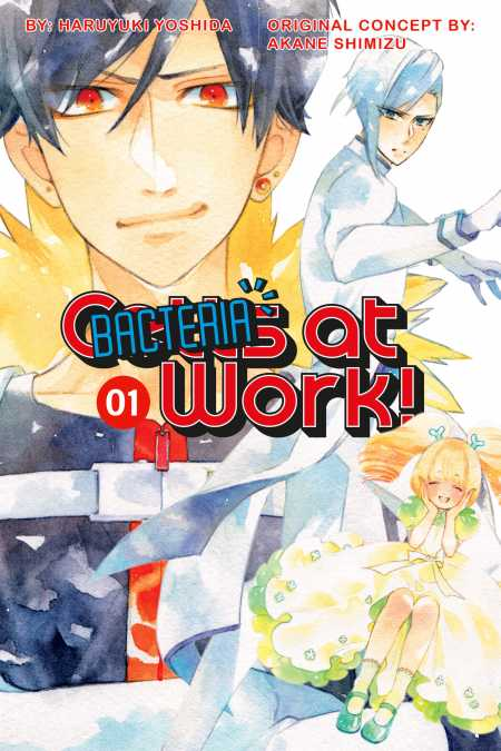 cover for Cells at Work: Bacteria!, 1