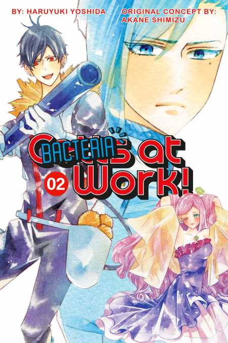 cover for Cells at Work: Bacteria!, 2