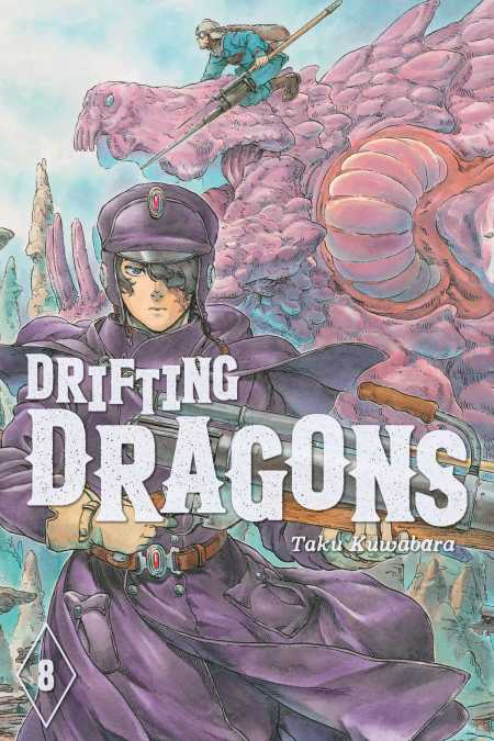 cover for Drifting Dragons, 8