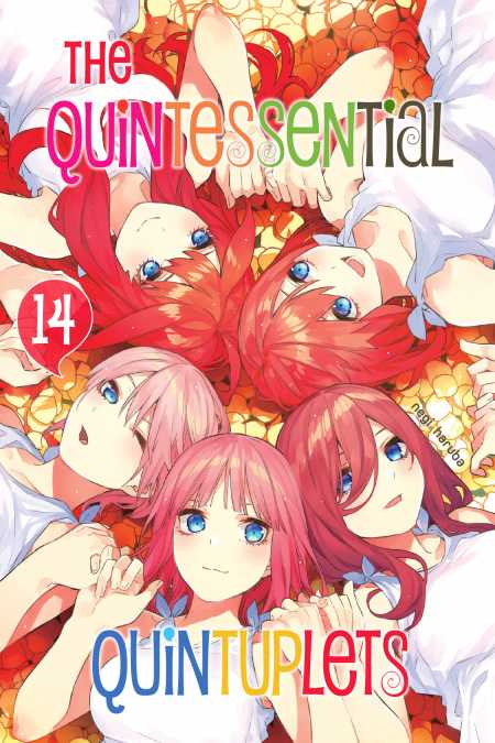 cover for The Quintessential Quintuplets, 14