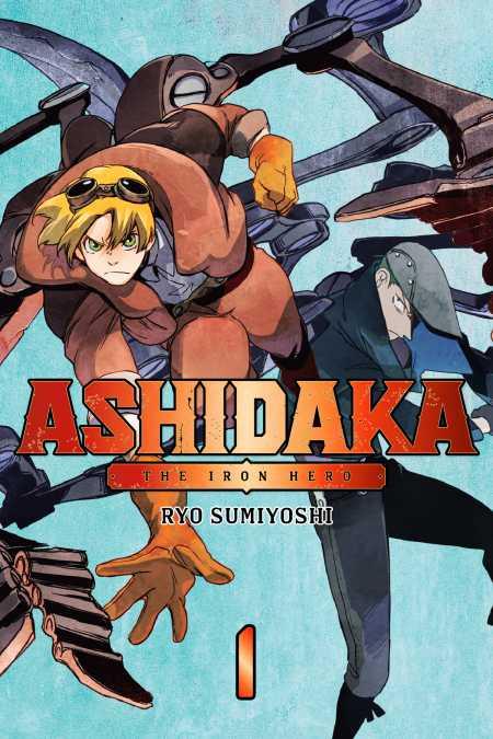 cover for ASHIDAKA - The Iron Hero, 1
