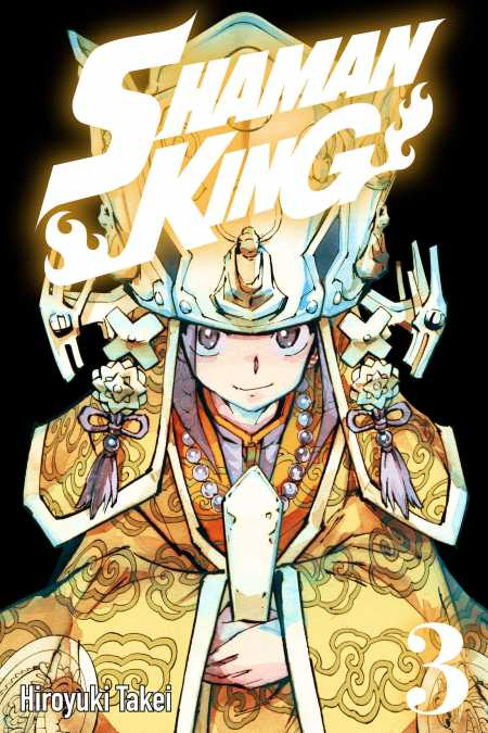 cover for Shaman King, 3