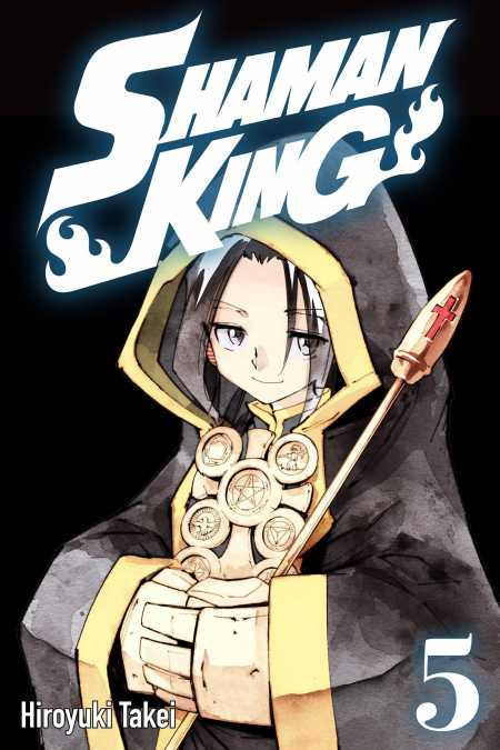 cover for Shaman King, 5