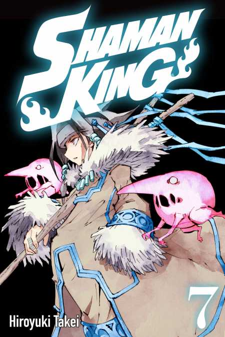 cover for Shaman King, 7