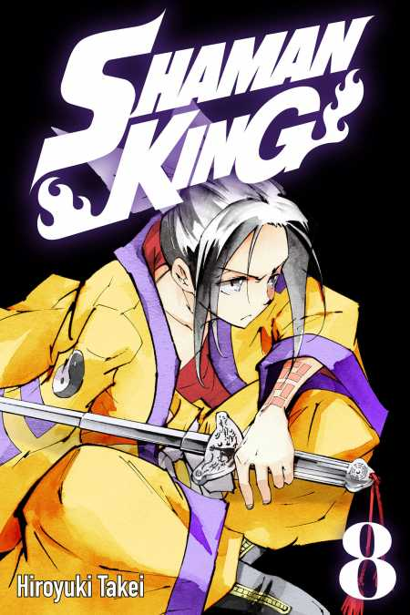 cover for Shaman King, 8