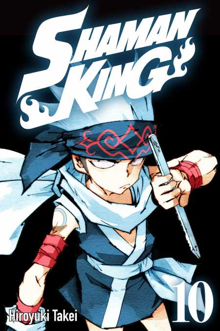 cover for Shaman King, 10