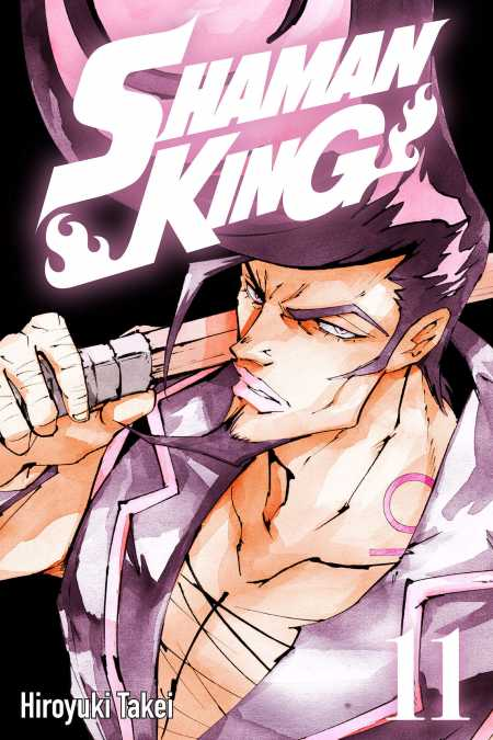 cover for Shaman King, 11
