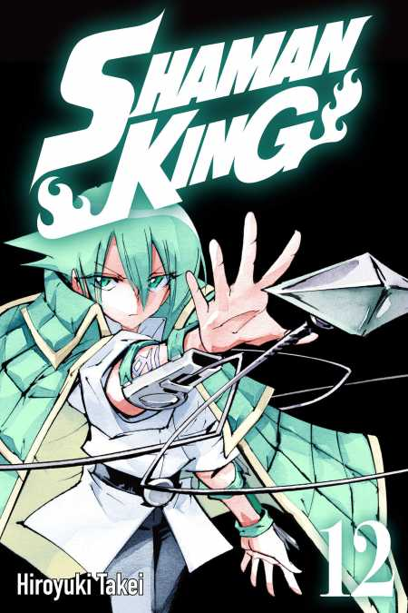 cover for Shaman King, 12