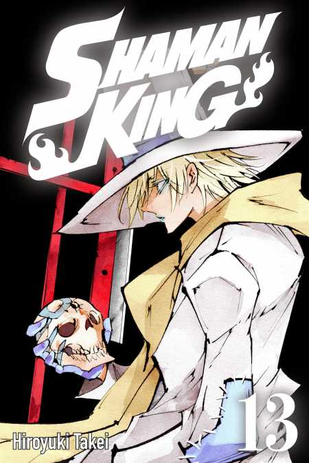cover for Shaman King, 13