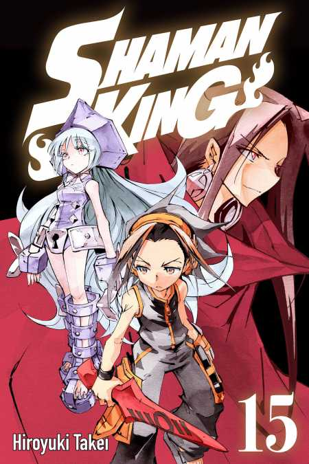 cover for Shaman King, 15