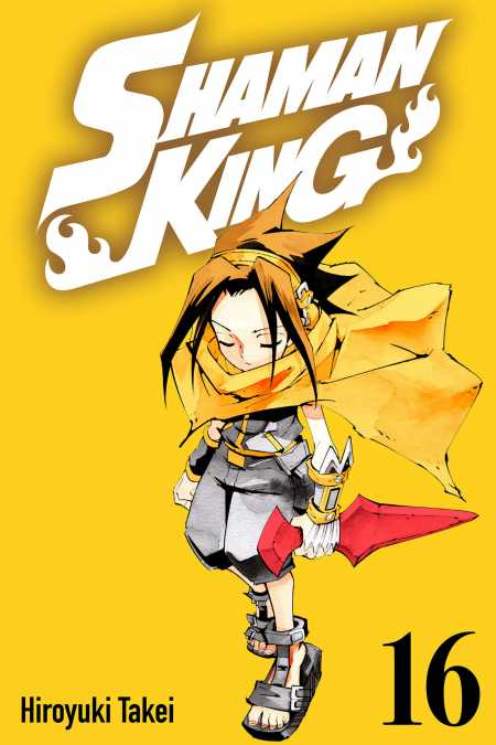 cover for Shaman King, 16