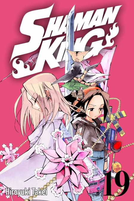 cover for Shaman King, 19