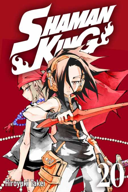 cover for Shaman King, 20