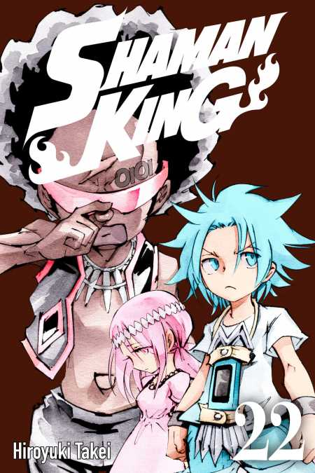 cover for Shaman King, 22