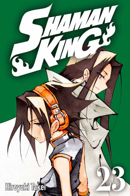 cover for Shaman King, 23