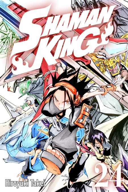 cover for Shaman King, 24