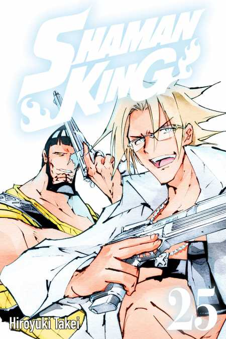 cover for Shaman King, 25