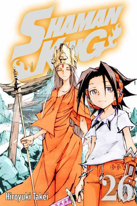 cover for Shaman King, 26