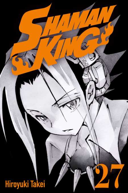 cover for Shaman King, 27