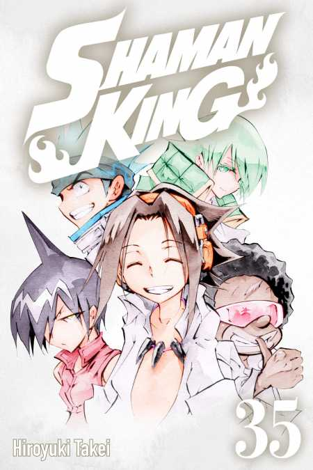 cover for Shaman King, 35