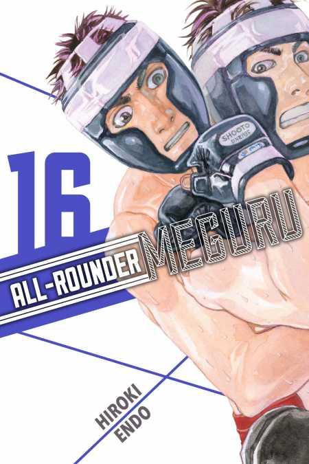 cover for All-Rounder Meguru, 16