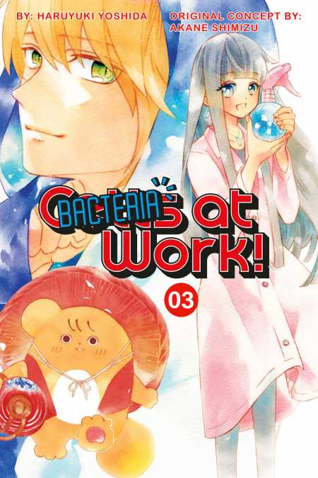 cover for Cells at Work: Bacteria!, 3