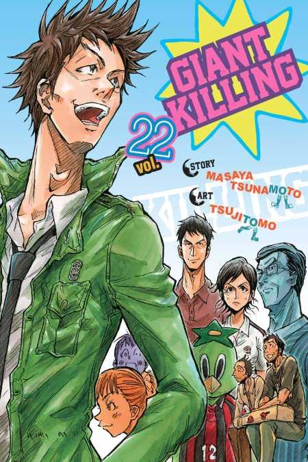 cover for Giant Killing, 22