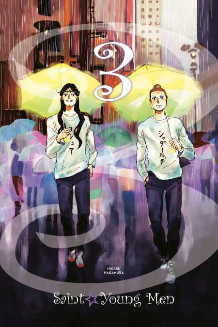cover for Saint Young Men (hardcover), 3