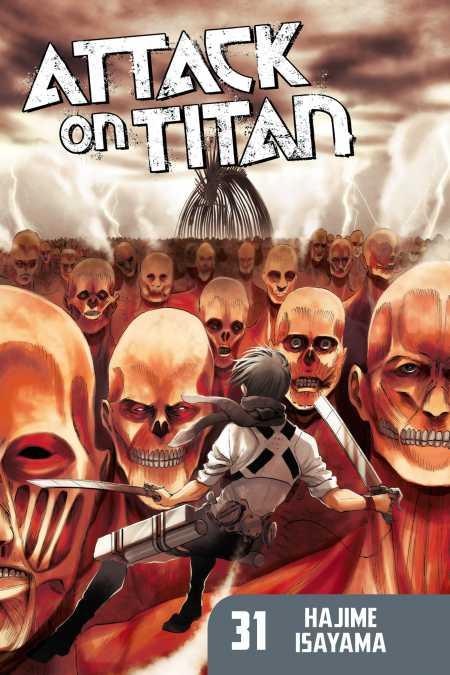 cover for Attack on Titan, 31