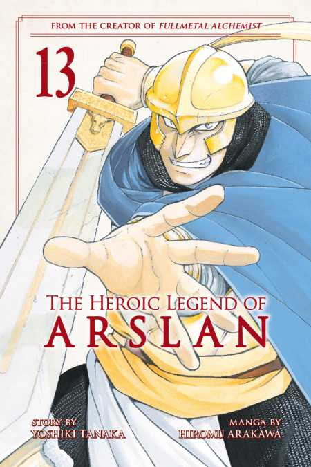 cover for The Heroic Legend of Arslan, 13