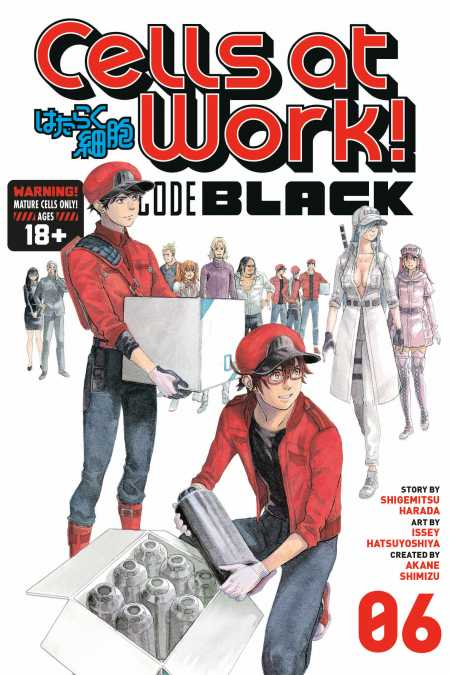 cover for Cells at Work! CODE BLACK, 6