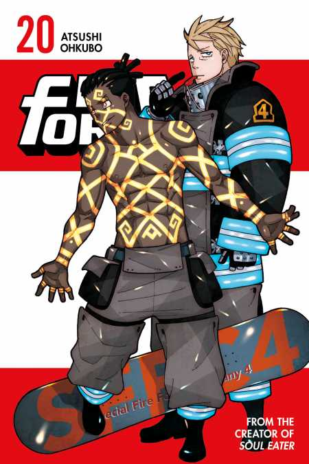 cover for Fire Force, 20