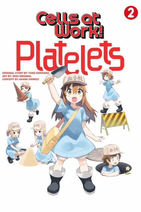 cover for Cells at Work: Platelets!, 2