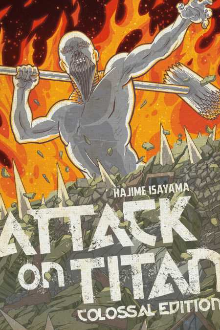 Cover for Attack on Titan Colossal Edition, 5