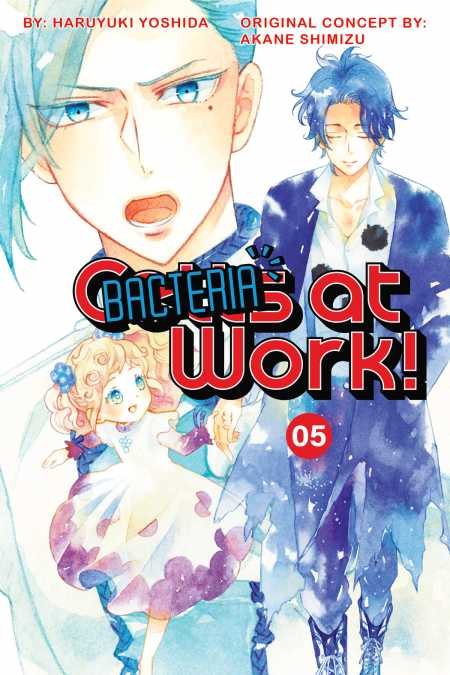 cover for Cells at Work: Bacteria!, 5