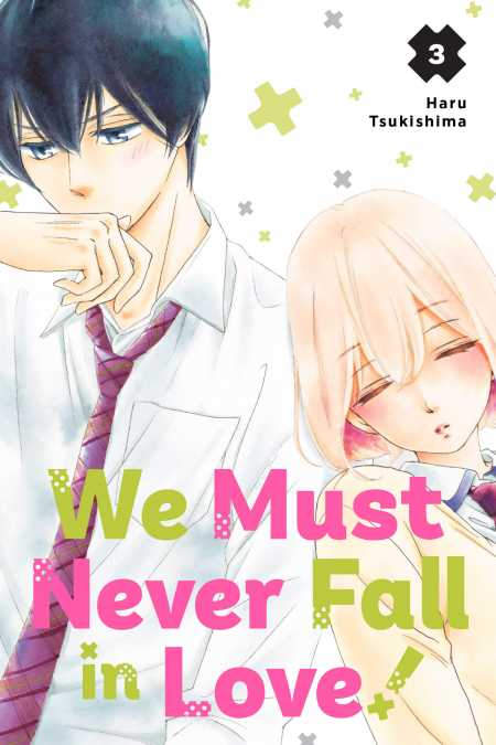 cover for We Must Never Fall in Love!, 3