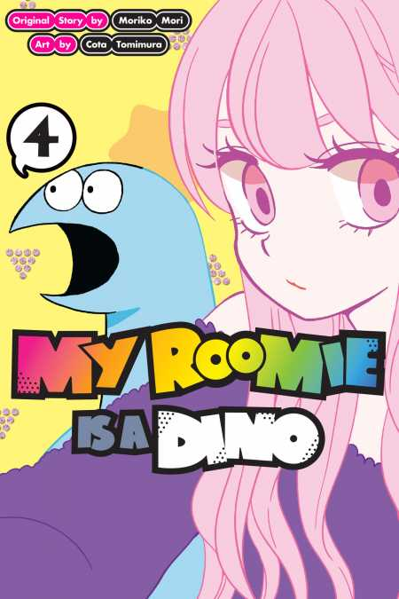 cover for My Roomie Is a Dino, 4