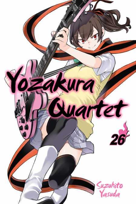 cover for Yozakura Quartet, 26