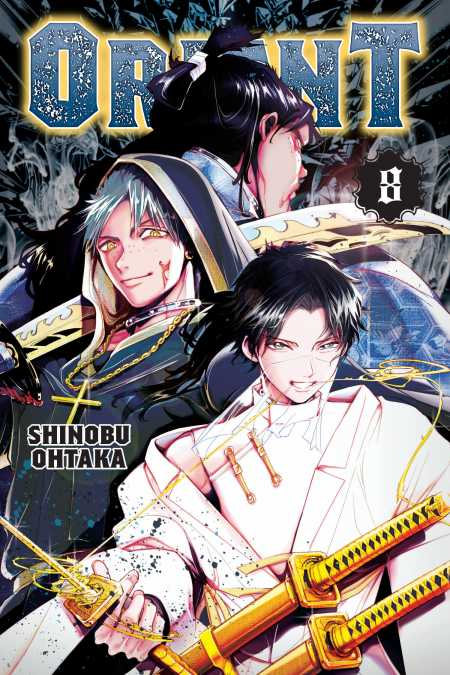 cover for Orient, 8