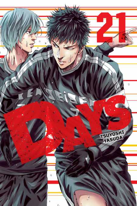 cover for DAYS, 21