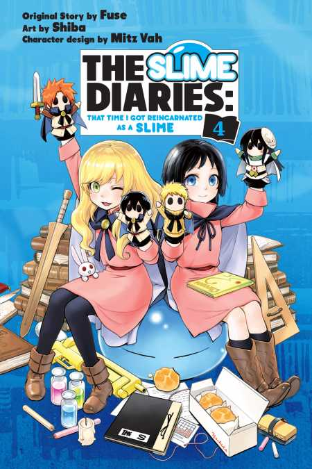cover for The Slime Diaries, 4