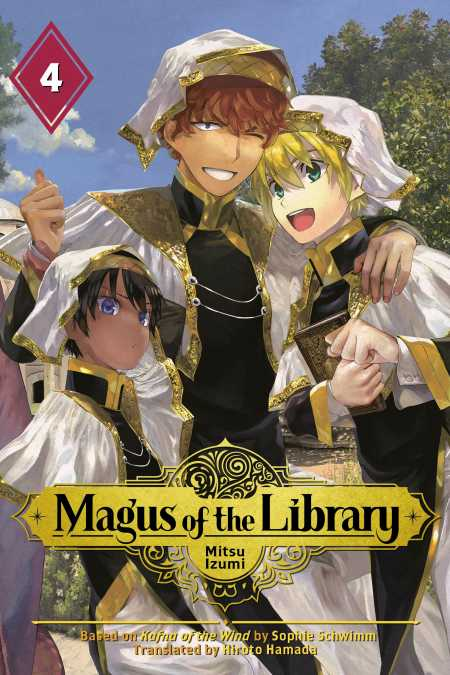 cover for Magus of the Library, 4