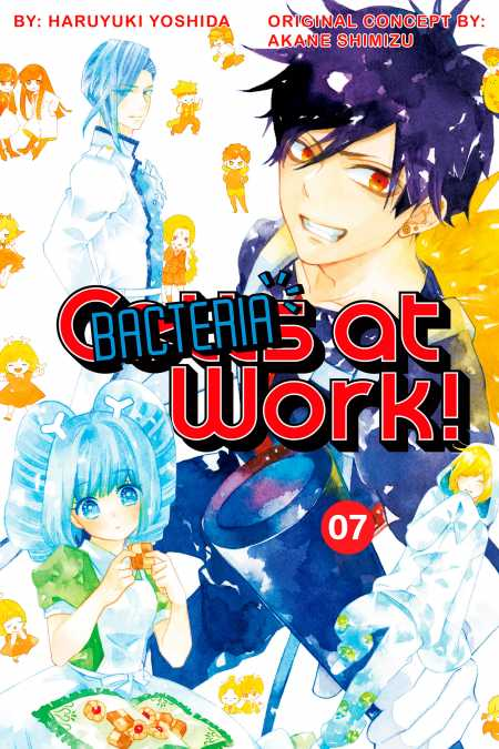 cover for Cells at Work: Bacteria!, 7