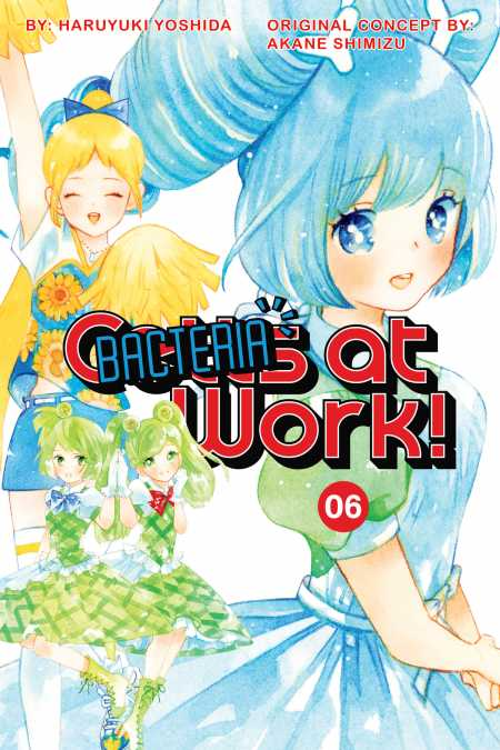 cover for Cells at Work: Bacteria!, 6