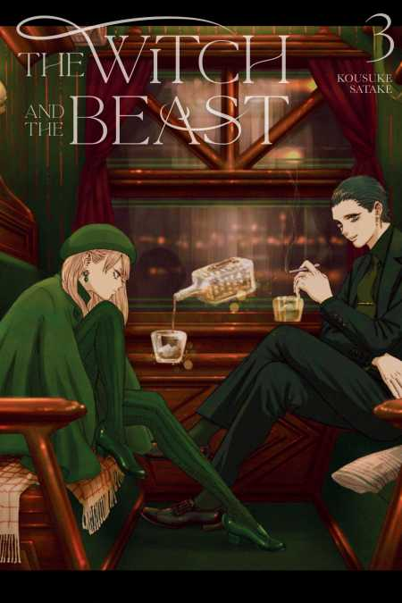 cover for The Witch and the Beast, 3